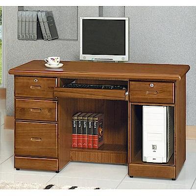 MUNA 樟木色4.2尺電腦桌  128.5X59X76cm