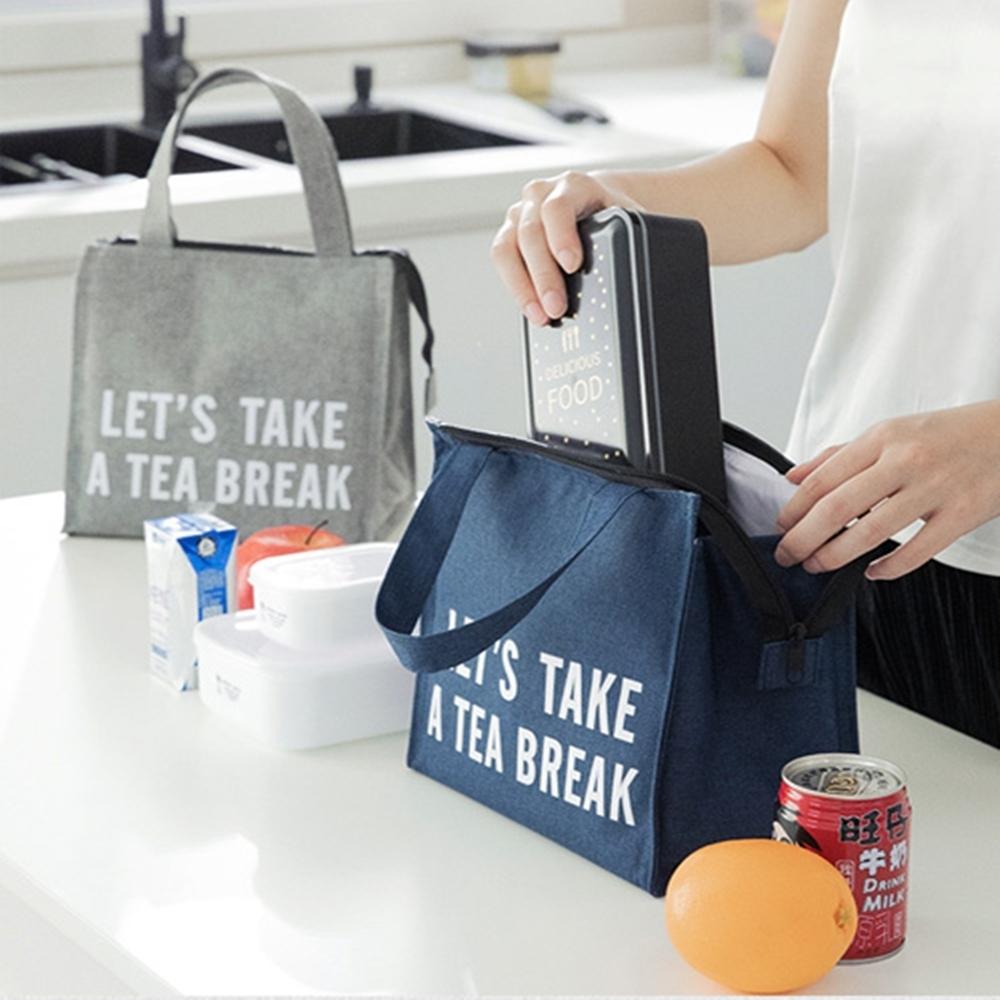 Baby童衣 日式小學生易清洗帆布飯盒袋 便當袋 兒童餐袋 88324