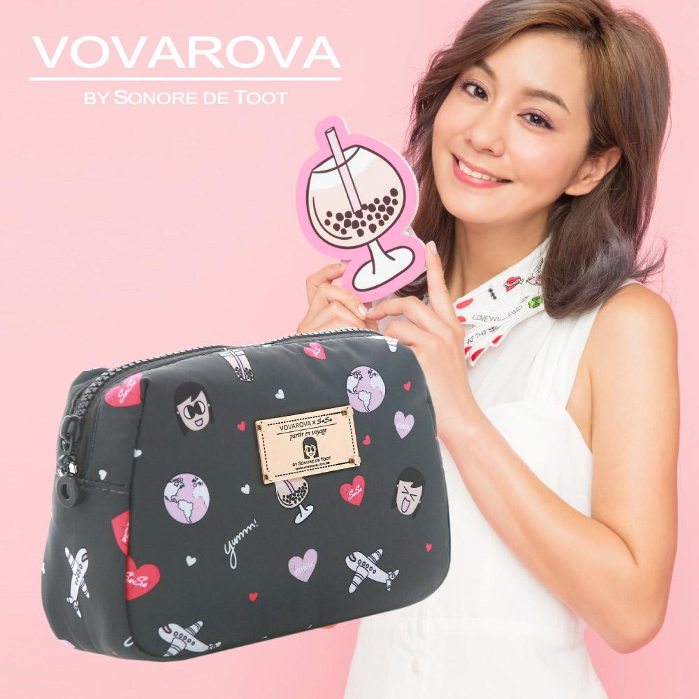 VOVAROVA x 莎莎-一日化妝包-福爾摩莎-環遊世界系列