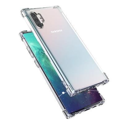 三星 samsung Galaxy Note 10+ 透明 防摔 防撞 四角氣囊 手機殼-Galaxy Note 10+ 透明*1