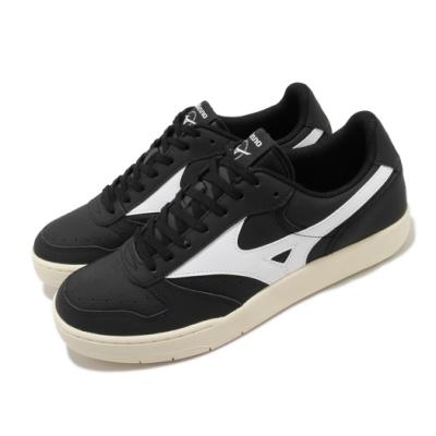 Mizuno 休閒鞋 City Wind 復古 男鞋 美津濃 皮革鞋面 穿搭 基本款 黑 白 D1GA191711