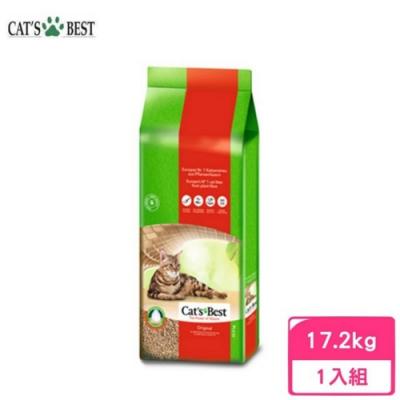 德國凱優Cat′s Best-經典凝結木屑砂(紅標凝結型) 40L/17.2kg