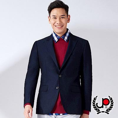 極品西服 正式都會提花小劍領西裝外套_丈青(AW632-3G)