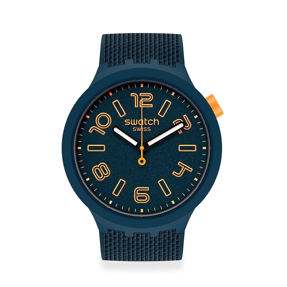 SWATCH BIG BOLD系列手錶BURNING LAVA 活力紳士(47mm)