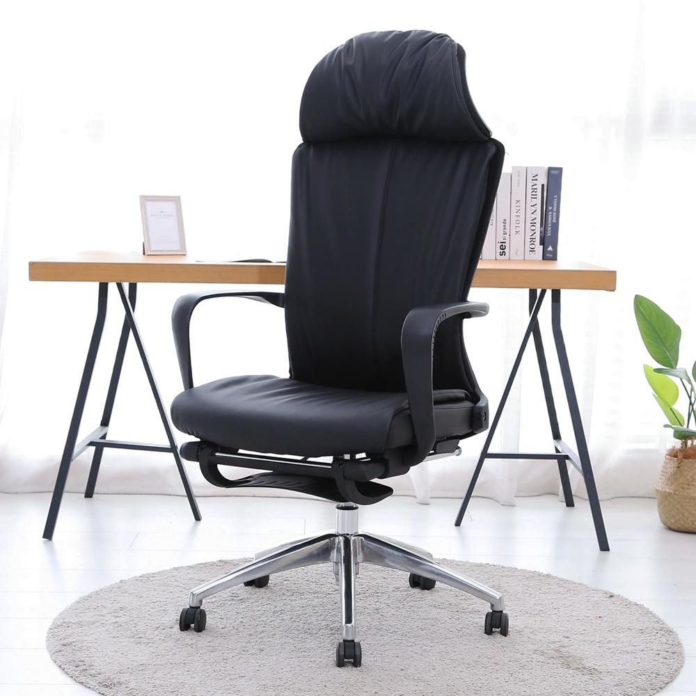 澄境 坐躺兩用厚坐墊舒適電腦椅/辦公椅/書桌椅