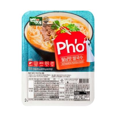 韓國百濟 米麵線-越南河粉味(100g)