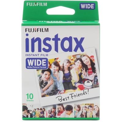 2入裸裝 FUJIFILM instax WIDE 寬幅拍立得系列 空白底片 共20張