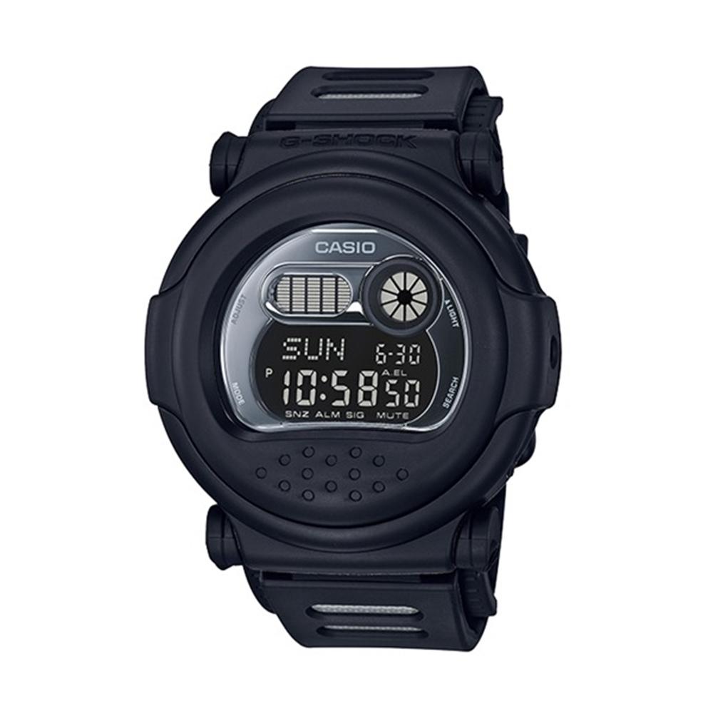 CASIO卡西歐  G-SHOCK系列 經典手錶 (G-001BB-1)-黑/48.8mm
