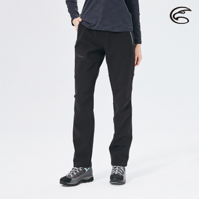 ADISI 女POWER SHIELD PRO高機能抗風透氣保暖褲AP2021009 (S-XL) 黑色