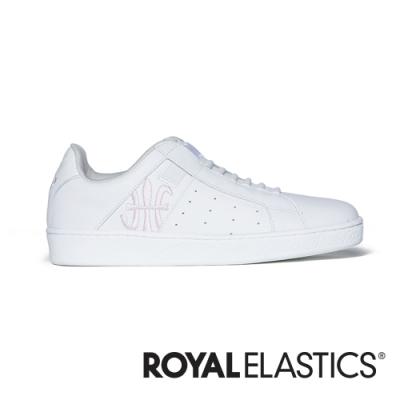 ROYAL ELASTICS Icon Genesis 白粉真皮運動休閒鞋 (女) 91901-001