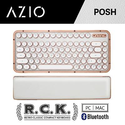 AZIO R.C.K. POSH BT 藍牙真牛皮短版中文鍵盤(PC/MAC)