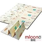 Mloong曼龍 XPE環保雙面折疊地墊-森林大象 (爬行墊/摺疊墊/遊戲墊)