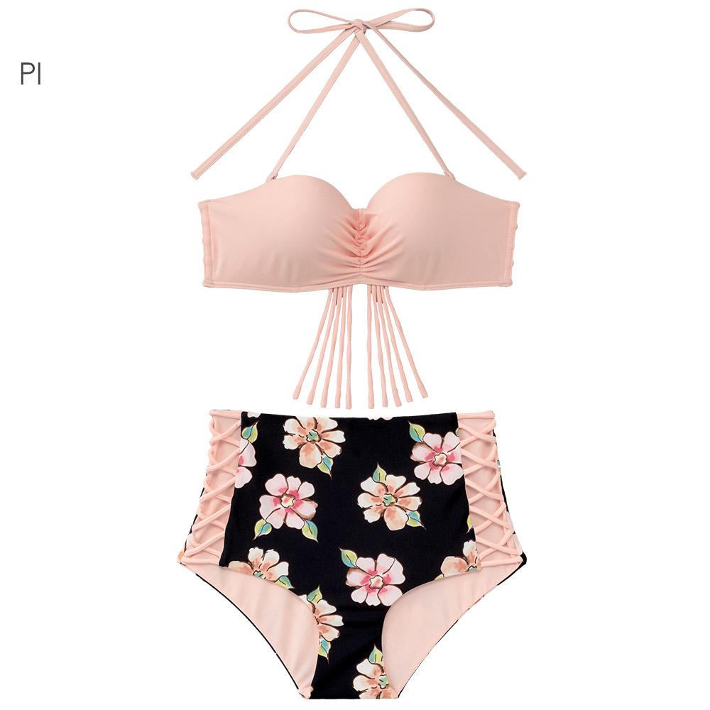 aimerfeel 古典玫瑰泳衣-粉紅色667730-PI