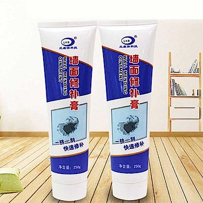 2入組 輕鬆快速DIY牆面修補膏/補牆膏/填縫劑