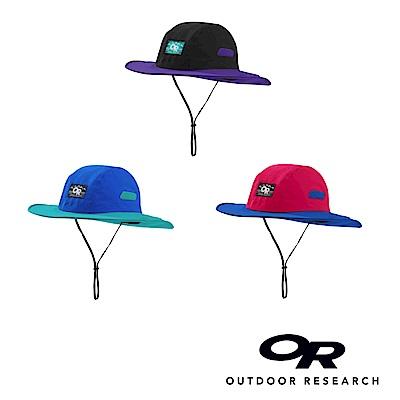 【美國Outdoor Research】復古款防水透氣防曬可折疊遮陽帽-(S號適孩童)