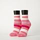 Footer除臭襪-條紋甜心運動氣墊襪-六雙入(粉紅*2+灰紫*2+深藍*2) product thumbnail 1