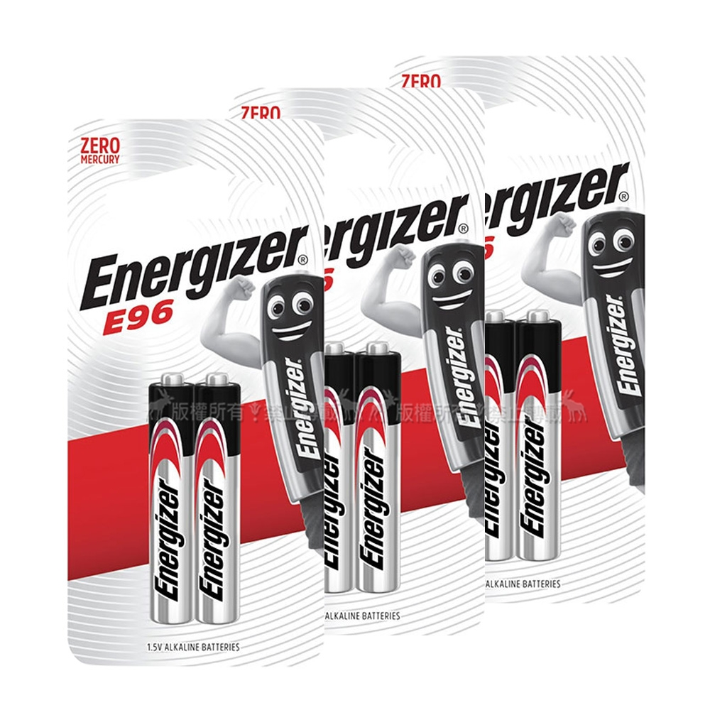 Energizer 勁量 持久型6號鹼性電池 AAAA (6顆入)