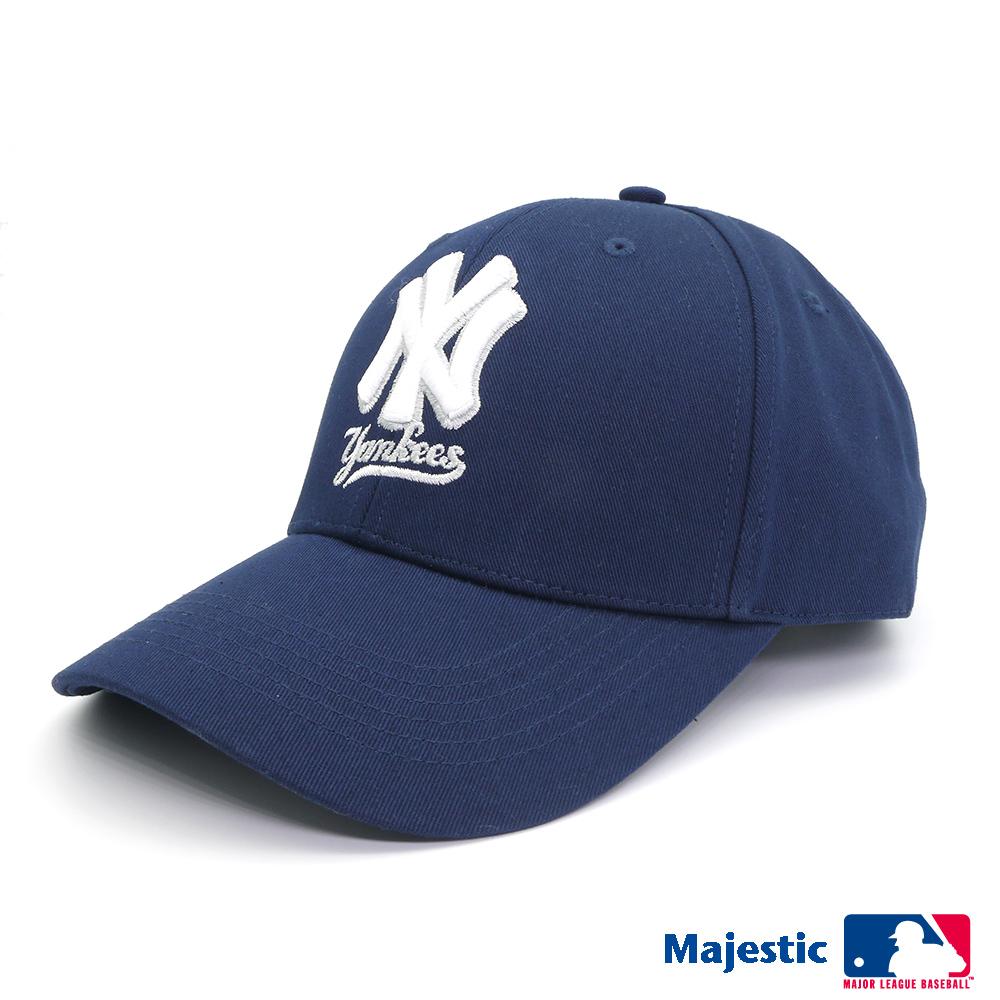 MLB-紐約洋基隊可調式復古球帽
