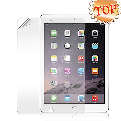 Apple iPad Air/Air2 高透光亮面耐磨保護貼 保護膜
