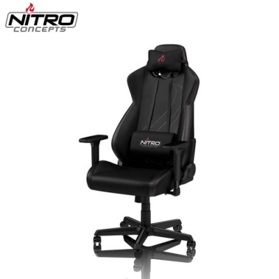 Nitro Concepts S300EX 電競電腦椅-碳纖黑(黑底紅車線)