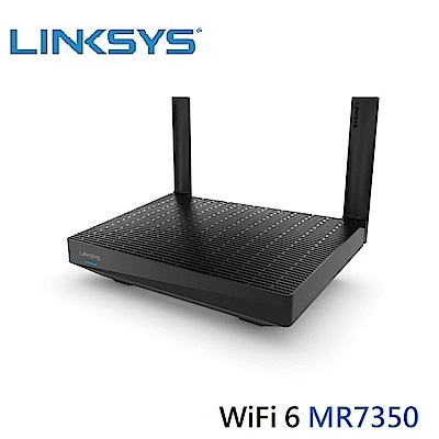 Linksys 雙頻 MR7350 MAX-STREAM Mesh WiFi 6 路由器AX1800