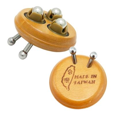 一品川流魔法舒-多功能按摩器-圓型2釘+滾珠-2入組
