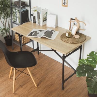 完美主義 工業風木作工作桌/電腦桌/書桌-120X60X74