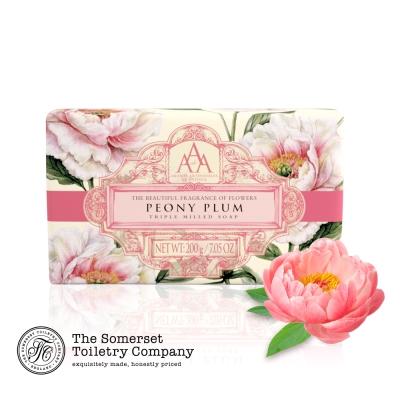 Somerset 賽玫特 英國AAA花卉護膚香皂200g-牡丹花
