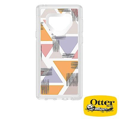 OtterBox Galaxy Note9炫彩幾何透明系列保護殼-幾何晶透