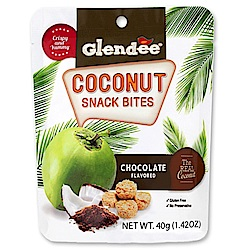Glendee 椰子酥-巧克力風味(40g)