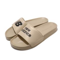 New Balance 涼拖鞋 SD1101HBEM 套腳 男鞋 紐巴倫 輕便 舒適 夏日 簡約 奶茶色 SD1101HBEM
