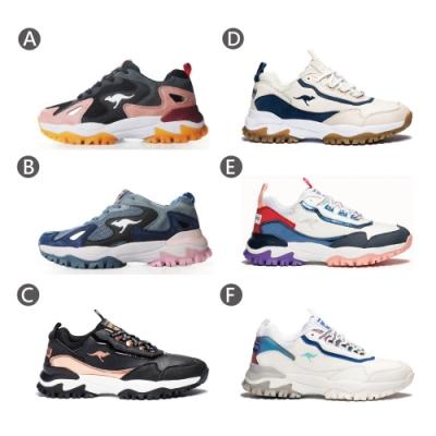 KANGAROOS 女 NEON/GROOVE 越野老爹鞋(6款任選)