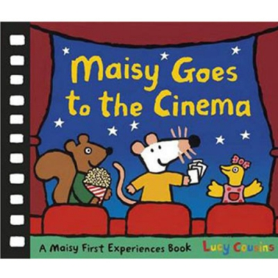 Maisy Goes To The Cinema 波波看電影精裝書