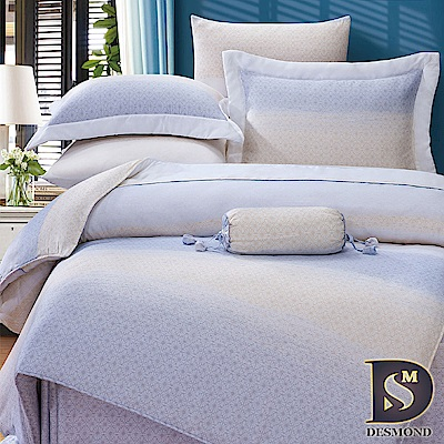 DESMOND岱思夢 加大100%天絲全鋪棉床包兩用被四件組 費爾頓