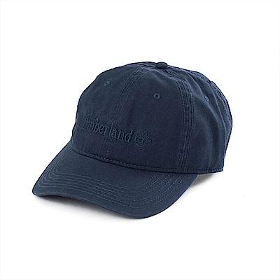 Timberland純棉線性LOGO帆布帽A1E9ITB9