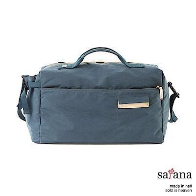 satana - Soldier 運動風旅行袋 - 午夜藍
