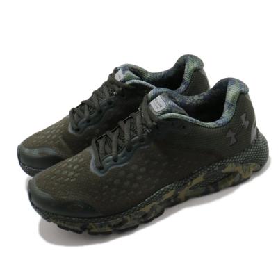 UA 慢跑鞋 HOVR Infinite 3 運動 男鞋 輕量 透氣 舒適 避震 路跑 健身 綠 黑 3024001301