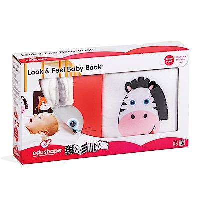 以色列 EDUSHAPE 寶寶感官床上布書玩具組