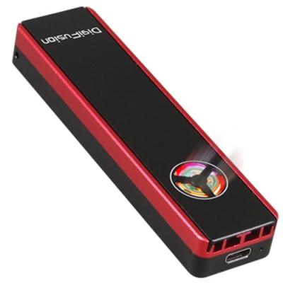 伽利略 M.2雙規SSD to USB3.2 Gen2 鋁合金 含散熱風扇 MDF322