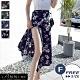 【LANNI 藍尼】邂逅夏威夷一片式雪紡裙(防走光/沙灘長裙)● product thumbnail 1