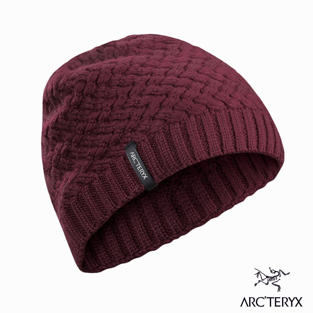 Arcteryx Waffle 保暖編織毛帽 印茄紫