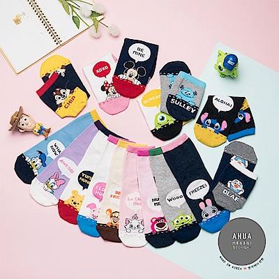 阿華有事嗎 韓國襪子 愛說話迪士尼中筒襪 韓妞必備長襪 正韓百搭純棉襪