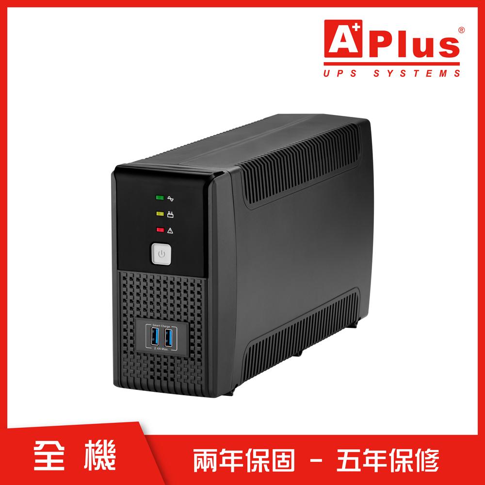 特優Aplus 在線互動式UPS Plus1E-US800N(800VA/480W)