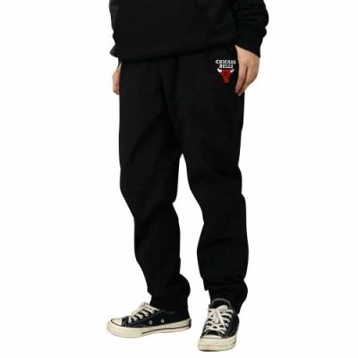 NBA Style WOVEN PANTS 防風 刷毛 縮口長褲 公牛隊