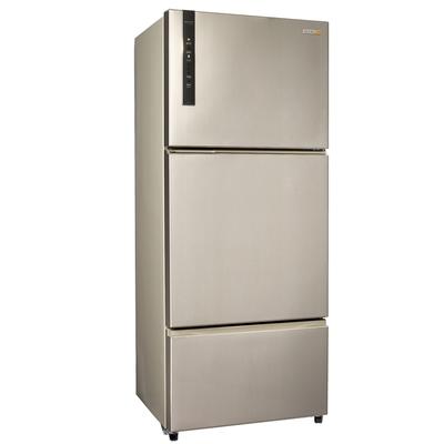 福利品 SAMPO聲寶 530L 1級變頻3門電冰箱 SR-B53DV(Y6) 香檳銀