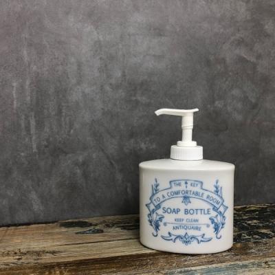 日本 MEISTER HAND 古典系列廚房清潔劑按壓瓶180ml-藍色