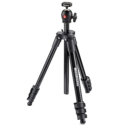 Manfrotto MKCOMPACTLT COMPACT系列 輕巧旅行腳架/131cm