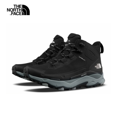 The North Face北面女款黑灰色VECTIV防水透氣抓地登山鞋|4T2VH23