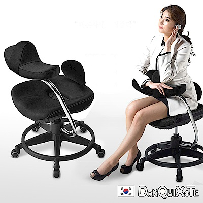 DonQuiXoTe-韓國原裝Reverse智慧工學椅-黑