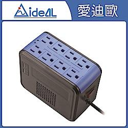 愛迪歐AVR 全方位電子式穩壓器 PSCU-1000(1KVA) 靚酷藍